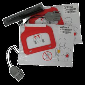 physio-control-lifepak-cr-plus-express-charge-pak-batterij-2-paar-elektroden-volwassene
