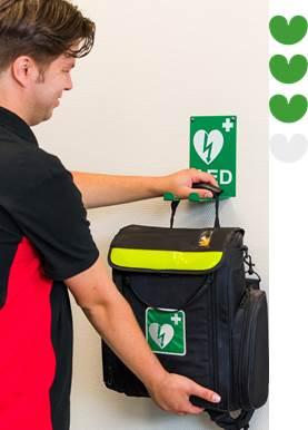 AED onderhoud op locatie
