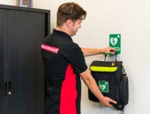 'Verplicht AED voor bedrijven met 50 werknemers'